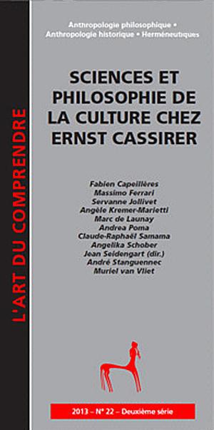 Ernst Cassirer. «Formes symboliques»,valeurs et «culturalités» Essai de confrontation